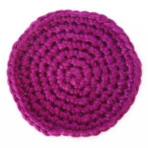 Kreis häkeln in Spiralrunden