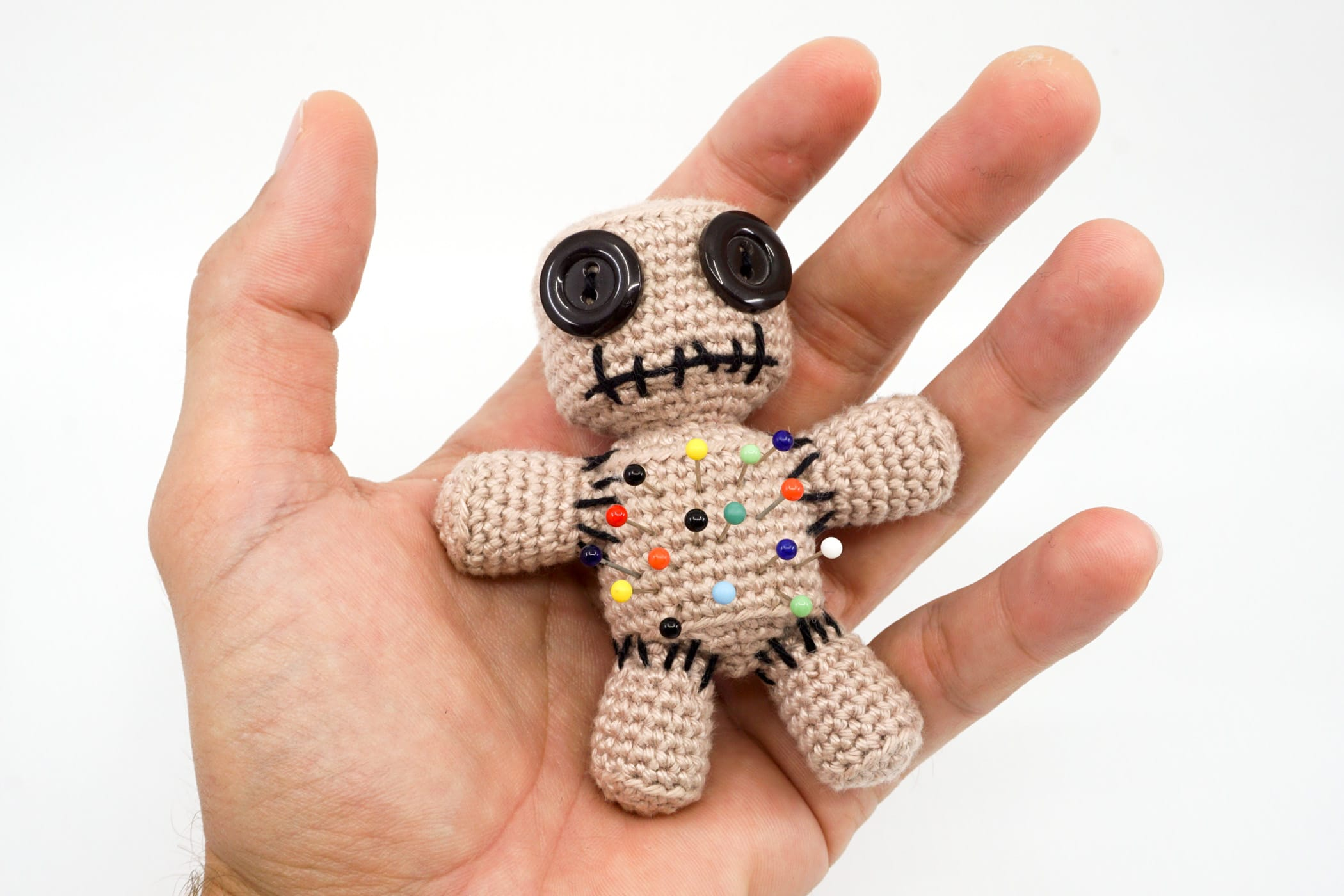 Amigurumi: Voodoo Doll (Pin Cushion) : 7 Steps (with Pictures ...   1500x2000