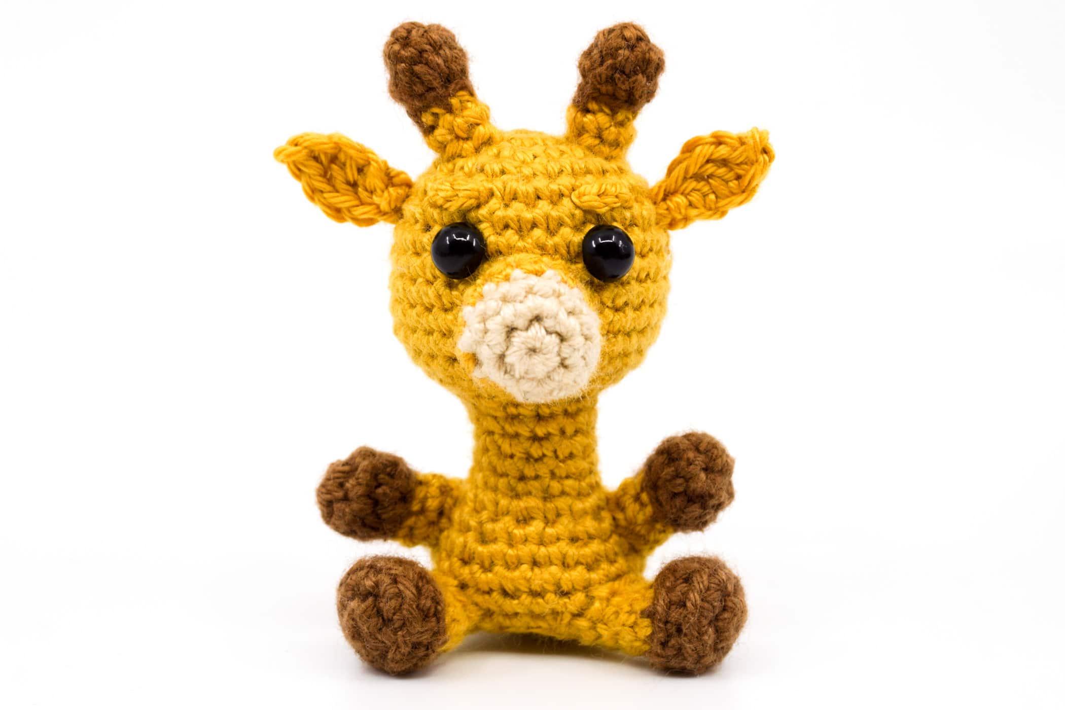 Crochet Baby Giraffe Amigurumi Free Patterns | 1400x2100
