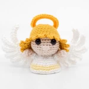 Amigurumi weiblichen Engel häkeln