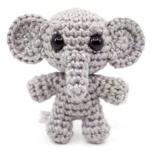 Elefanten Häkelanleitung – Mini Noso
