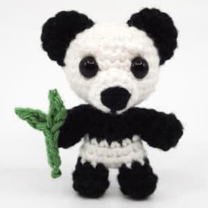 Panda Häkelanleitung – Mini Noso