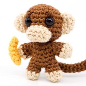 Affen Häkelanleitung – Mini Noso