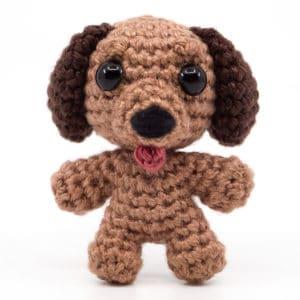 Hund Häkelanleitung – Mini Noso